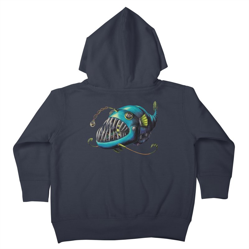 Anglerfish Kids Toddler Zip-Up Hoody by Natalie McKean