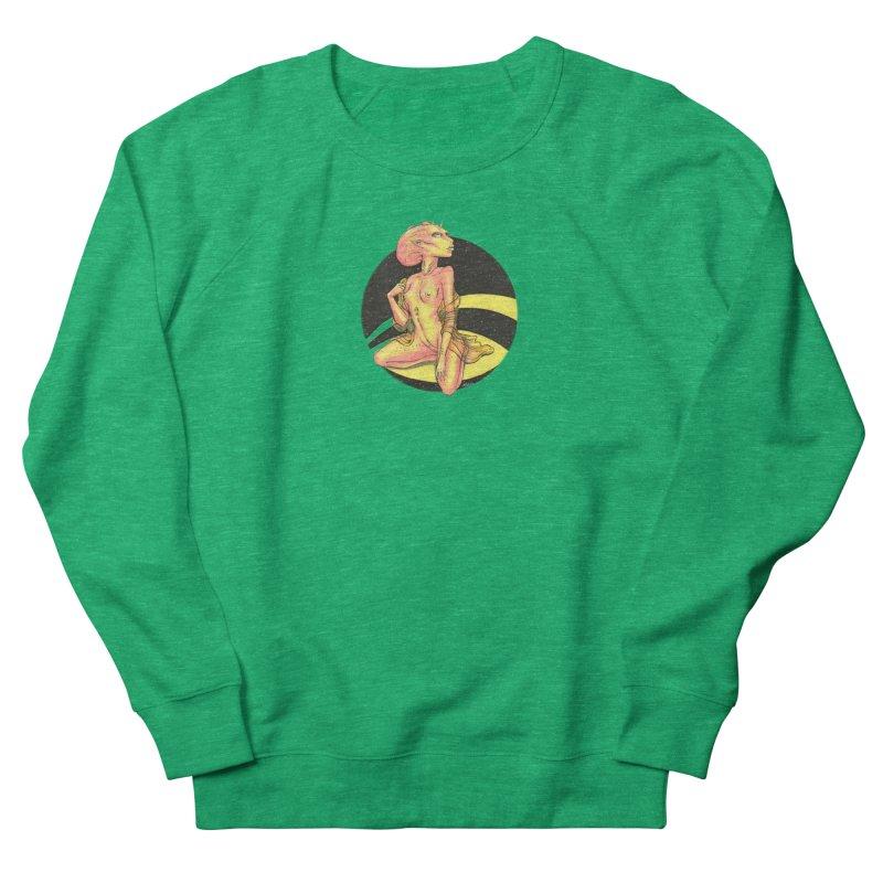 Yellow Alien 1 Women's Sweatshirt by Natalie McKean