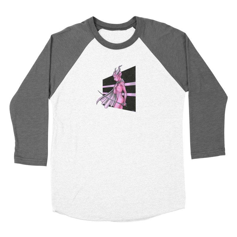 Pink Alien 1 Women's Longsleeve T-Shirt by Natalie McKean