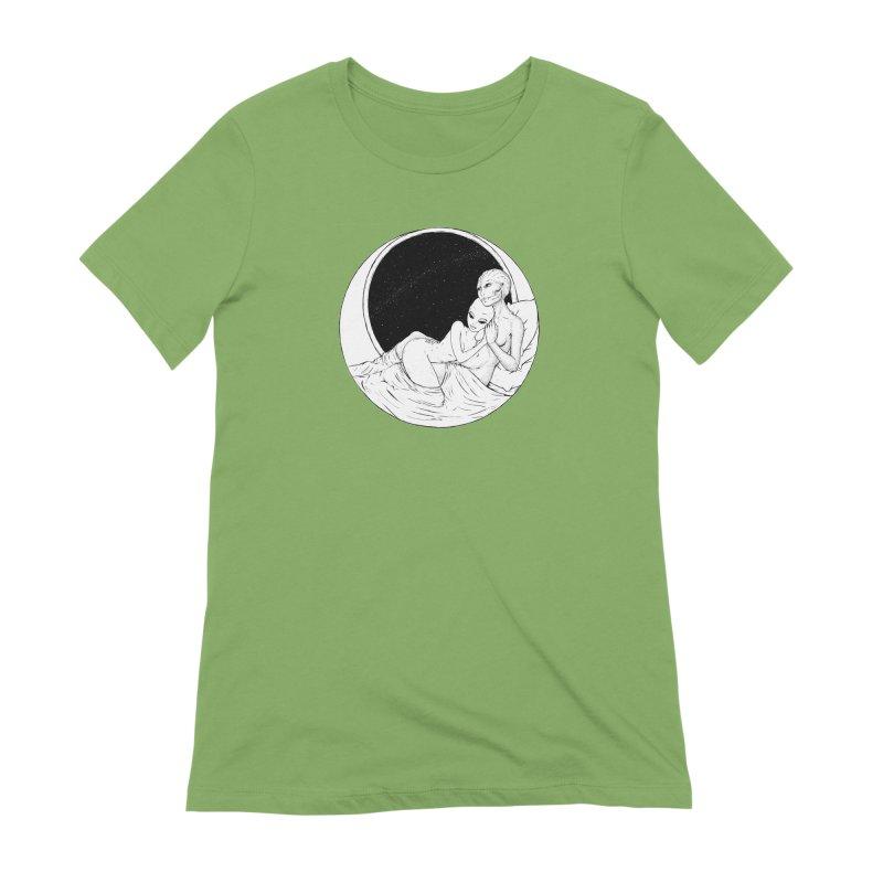 Love Beyond This World Women's Extra Soft T-Shirt by Natalie McKean