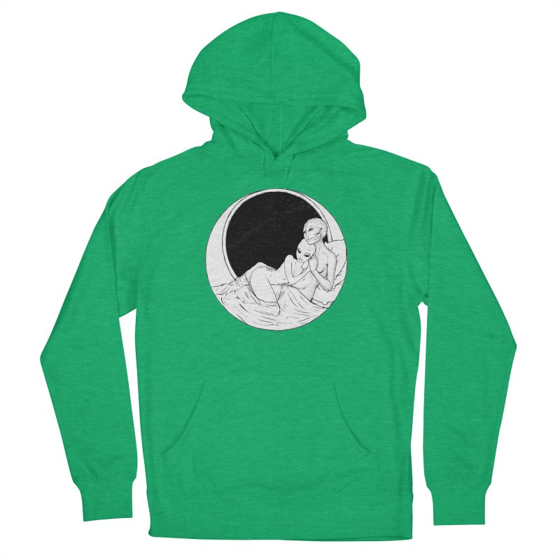 Love Beyond This World Women's French Terry Pullover Hoody by Natalie McKean