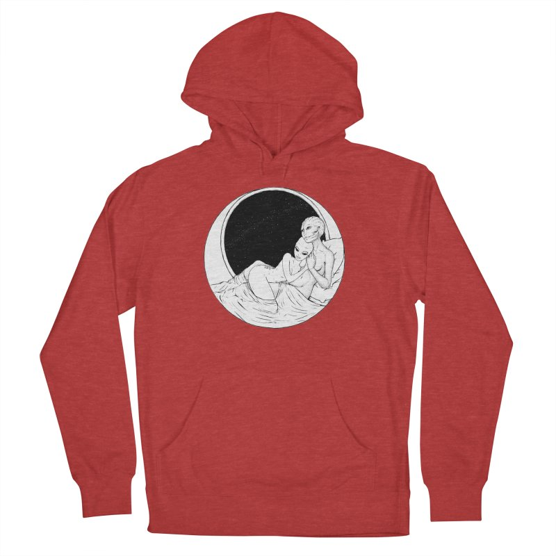 Love Beyond This World Men's French Terry Pullover Hoody by Natalie McKean