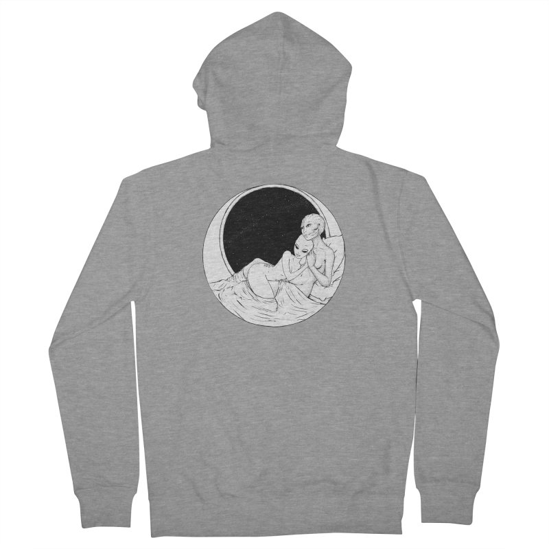 Love Beyond This World Women's French Terry Zip-Up Hoody by Natalie McKean