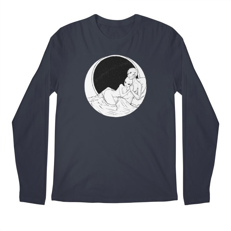 Love Beyond This World Men's Regular Longsleeve T-Shirt by Natalie McKean