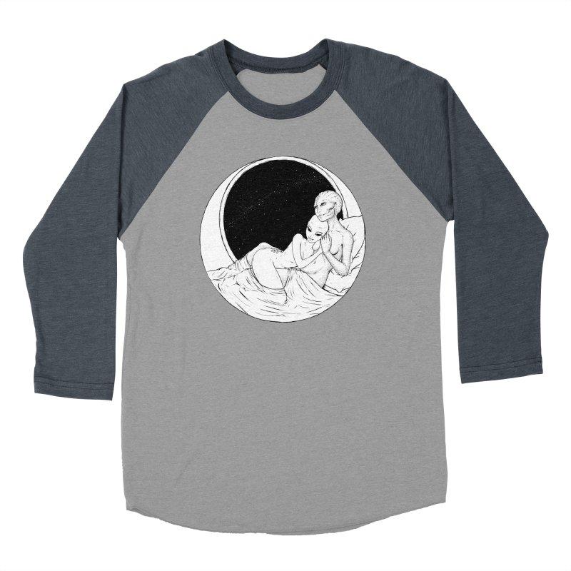 Love Beyond This World Women's Baseball Triblend Longsleeve T-Shirt by Natalie McKean
