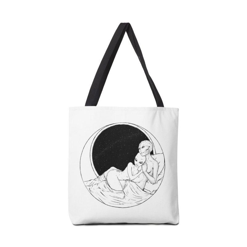 Love Beyond This World Accessories Bag by Natalie McKean