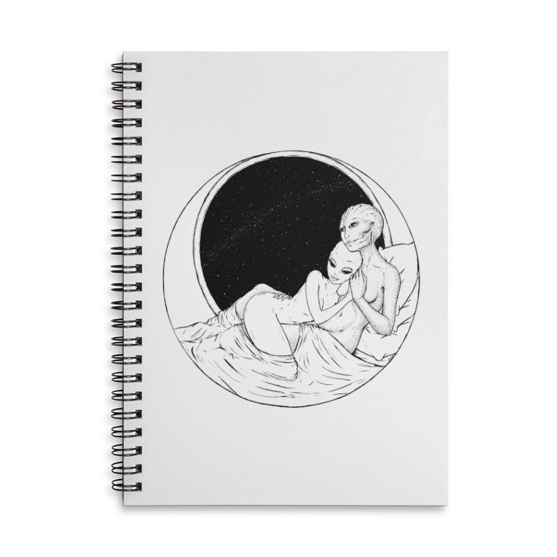 Love Beyond This World Accessories Notebook by Natalie McKean