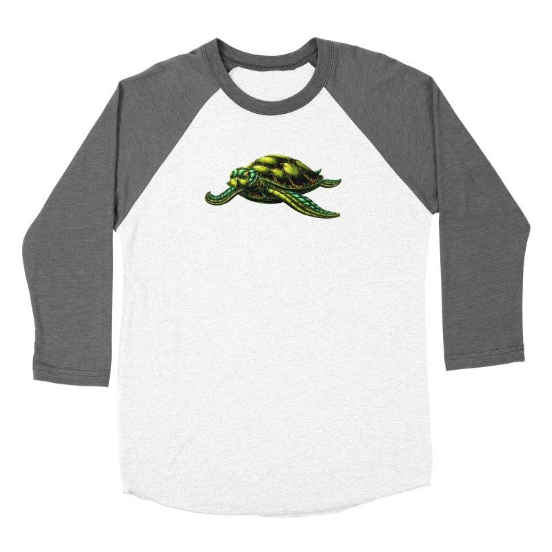 Robot Sea Turtle Women's Longsleeve T-Shirt by Natalie McKean