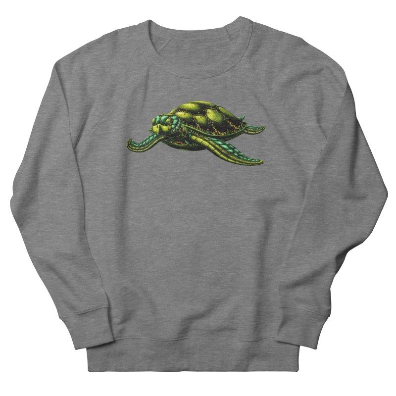Robot Sea Turtle Women's Sweatshirt by Natalie McKean