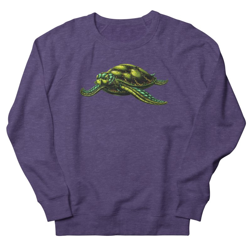 Robot Sea Turtle Men's Sweatshirt by Natalie McKean