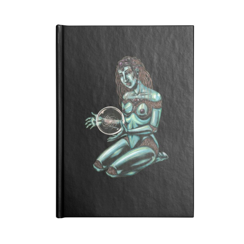 Sirius Accessories Blank Journal Notebook by Natalie McKean
