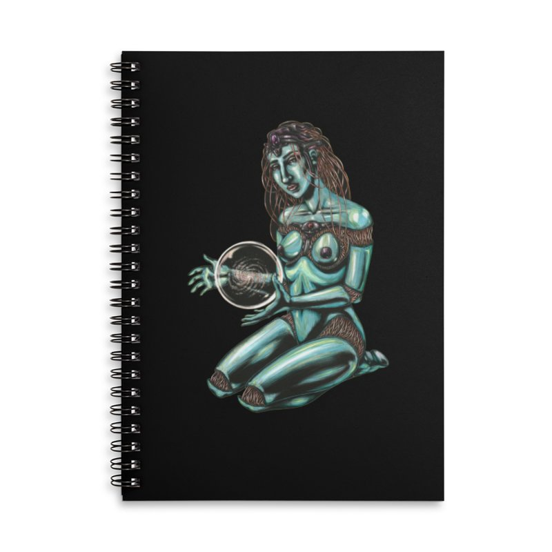 Sirius Accessories Lined Spiral Notebook by Natalie McKean