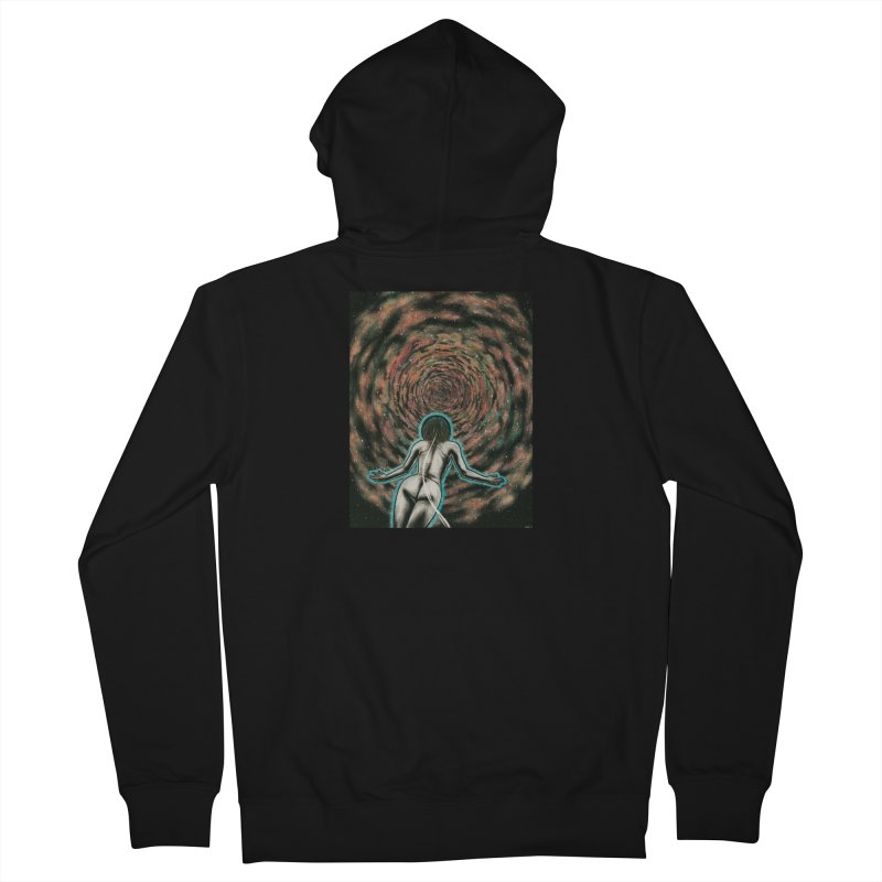 Stargate Men's French Terry Zip-Up Hoody by Natalie McKean