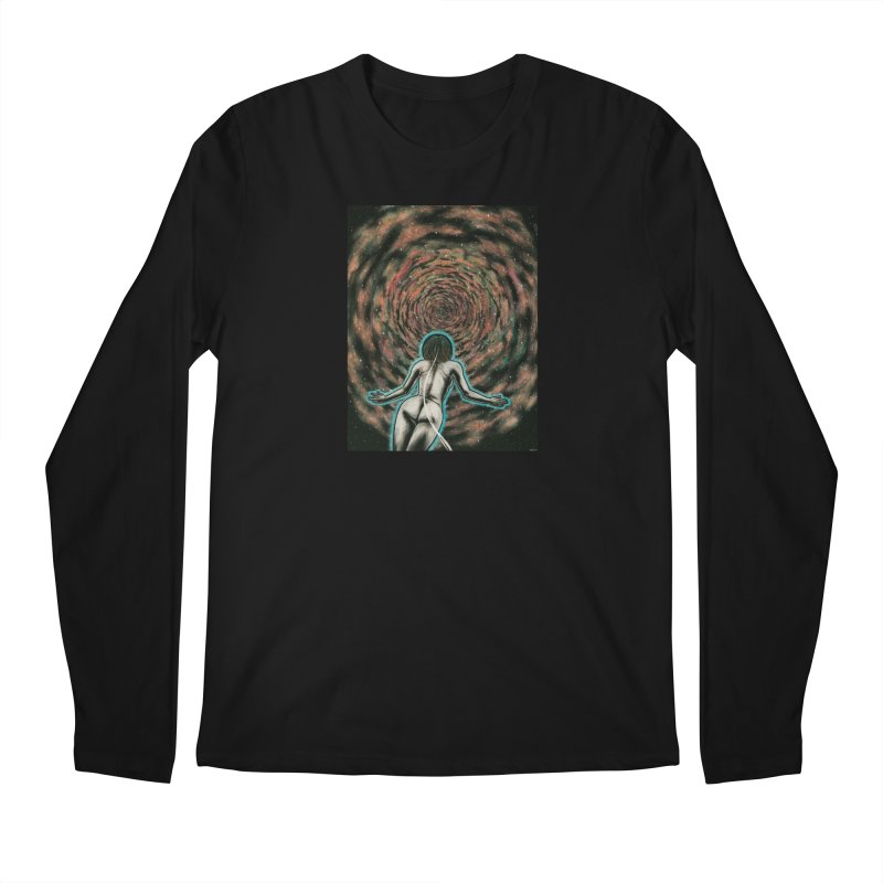 Stargate Men's Regular Longsleeve T-Shirt by Natalie McKean