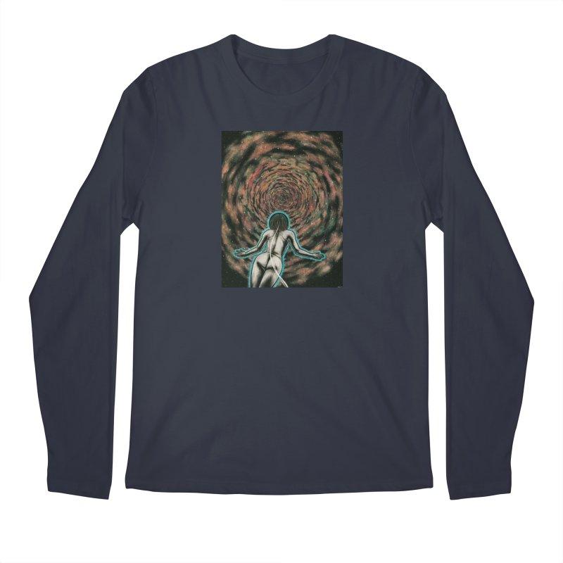 Stargate Men's Regular Longsleeve T-Shirt by Natalie McKean
