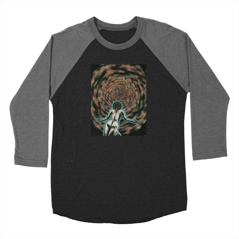 Stargate Women's Baseball Triblend Longsleeve T-Shirt by Natalie McKean