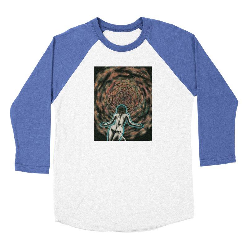 Stargate Men's Baseball Triblend Longsleeve T-Shirt by Natalie McKean