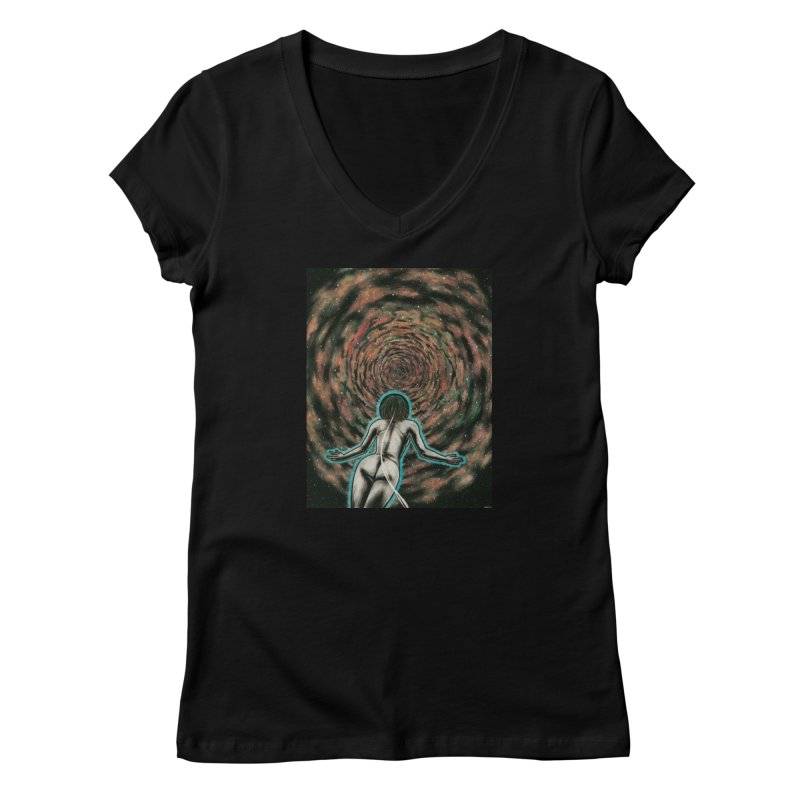 Stargate Women's V-Neck by Natalie McKean