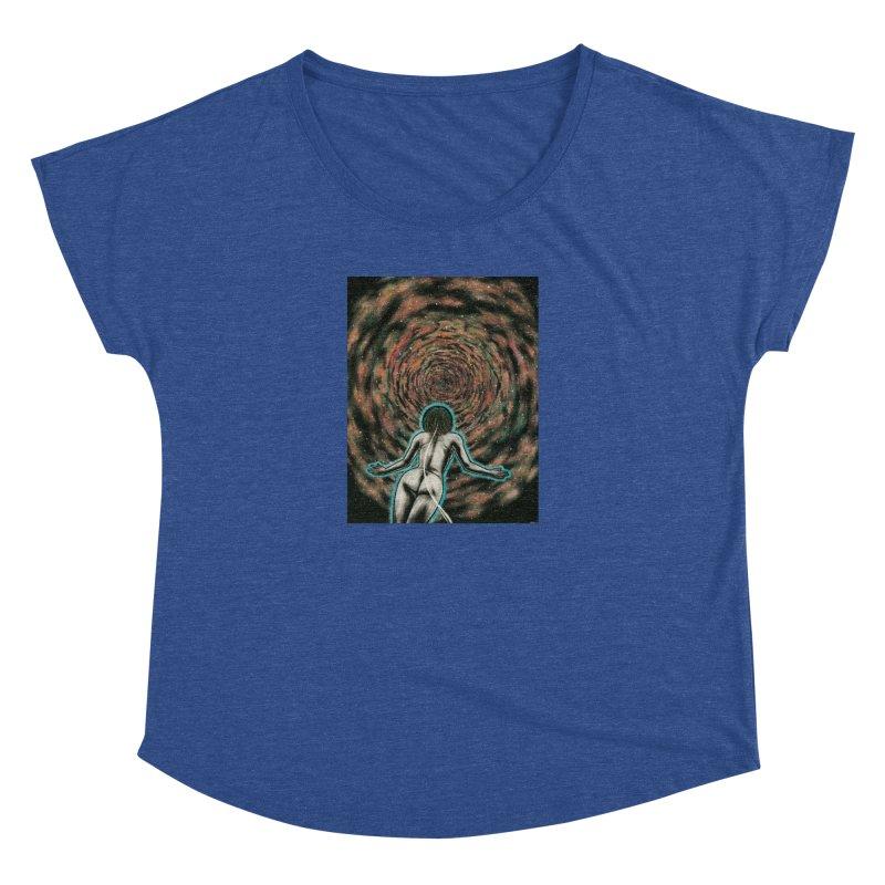 Stargate Women's Dolman Scoop Neck by Natalie McKean
