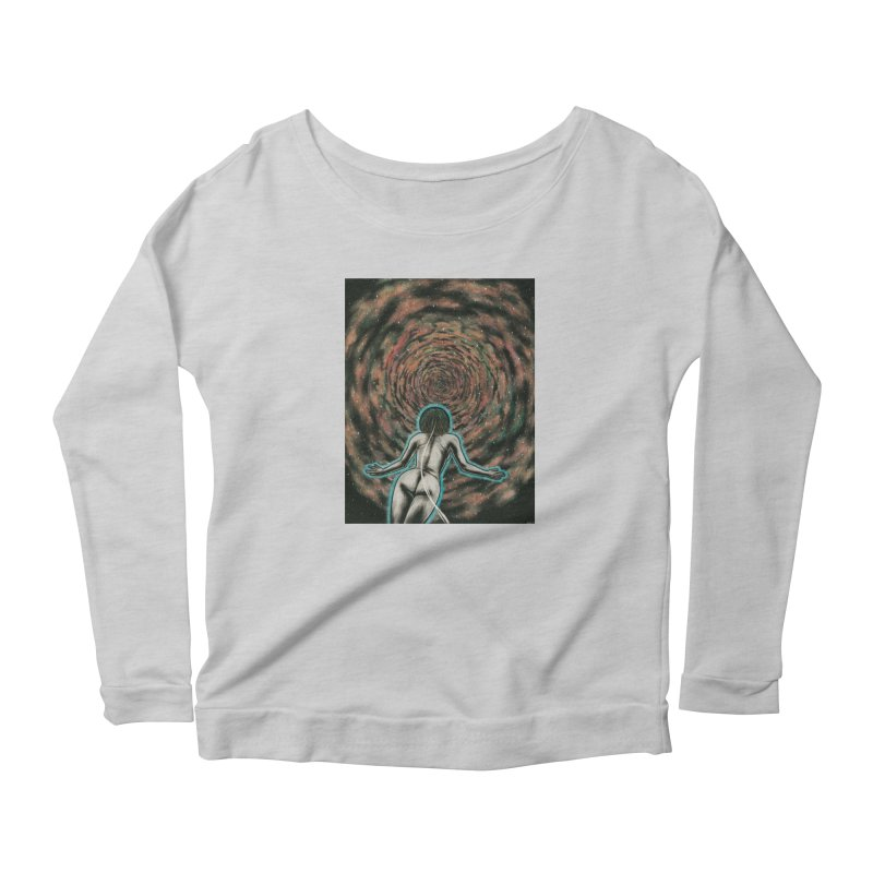 Stargate Women's Scoop Neck Longsleeve T-Shirt by Natalie McKean