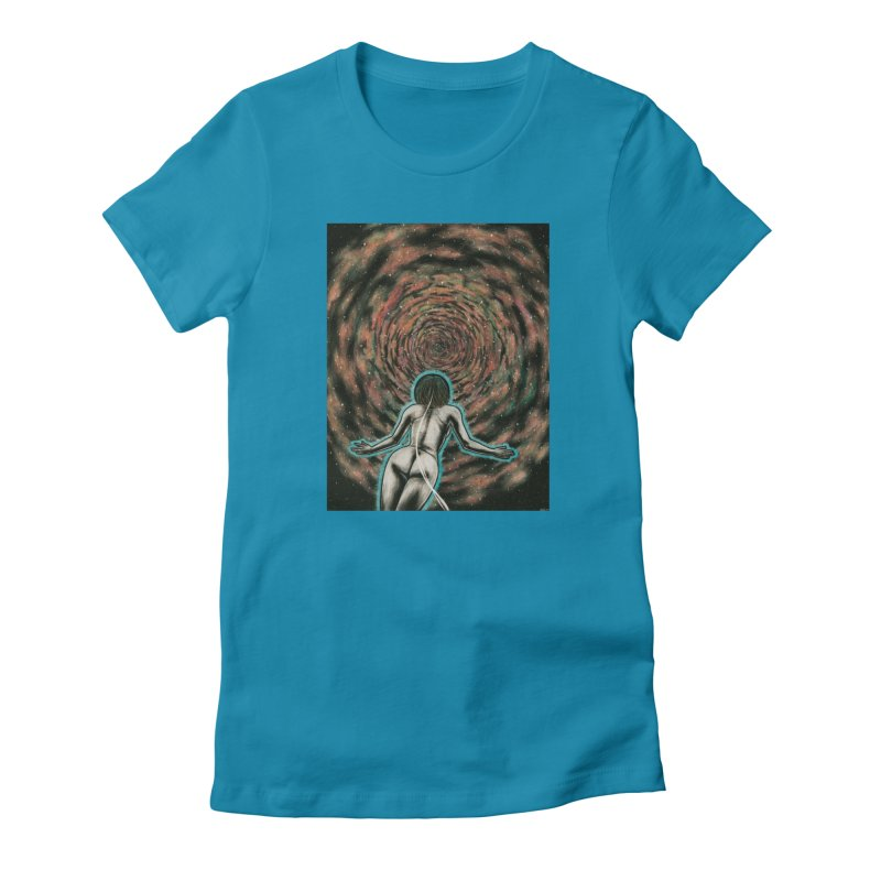 Stargate Women's Fitted T-Shirt by Natalie McKean