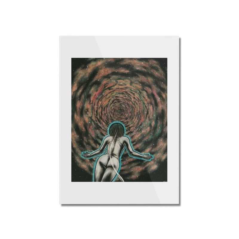 Stargate Home Mounted Acrylic Print by Natalie McKean