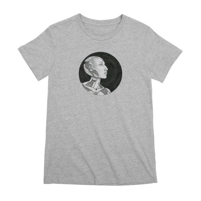Third Eye Women's Premium T-Shirt by Natalie McKean