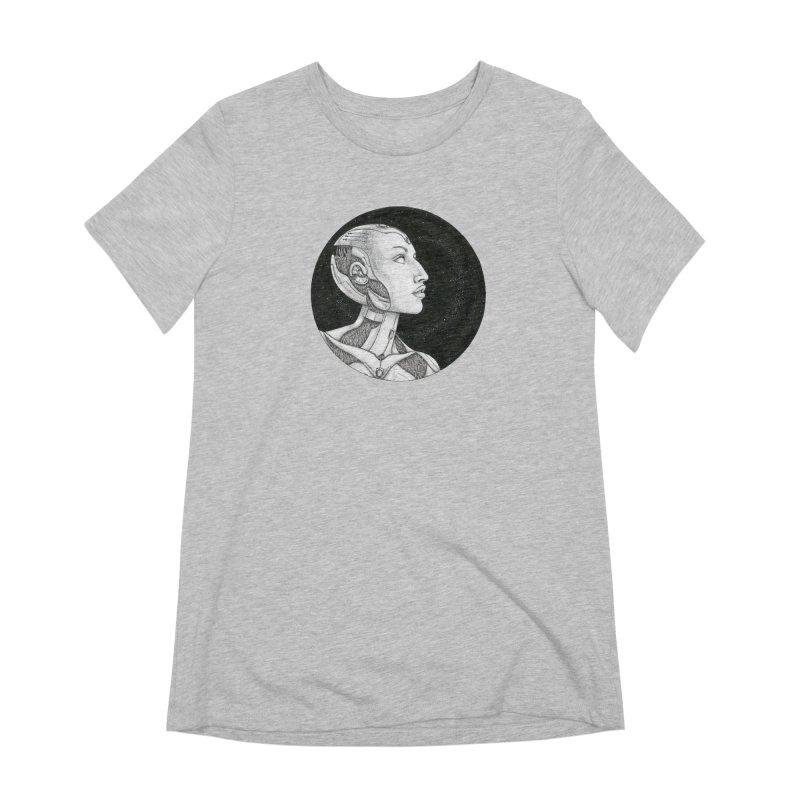 Third Eye Women's Extra Soft T-Shirt by Natalie McKean