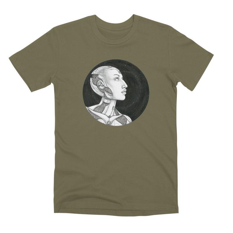 Third Eye Men's Premium T-Shirt by Natalie McKean