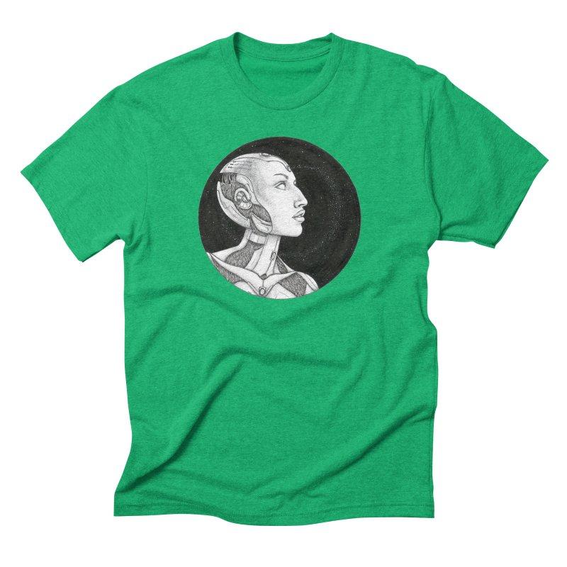 Third Eye Men's T-Shirt by Natalie McKean