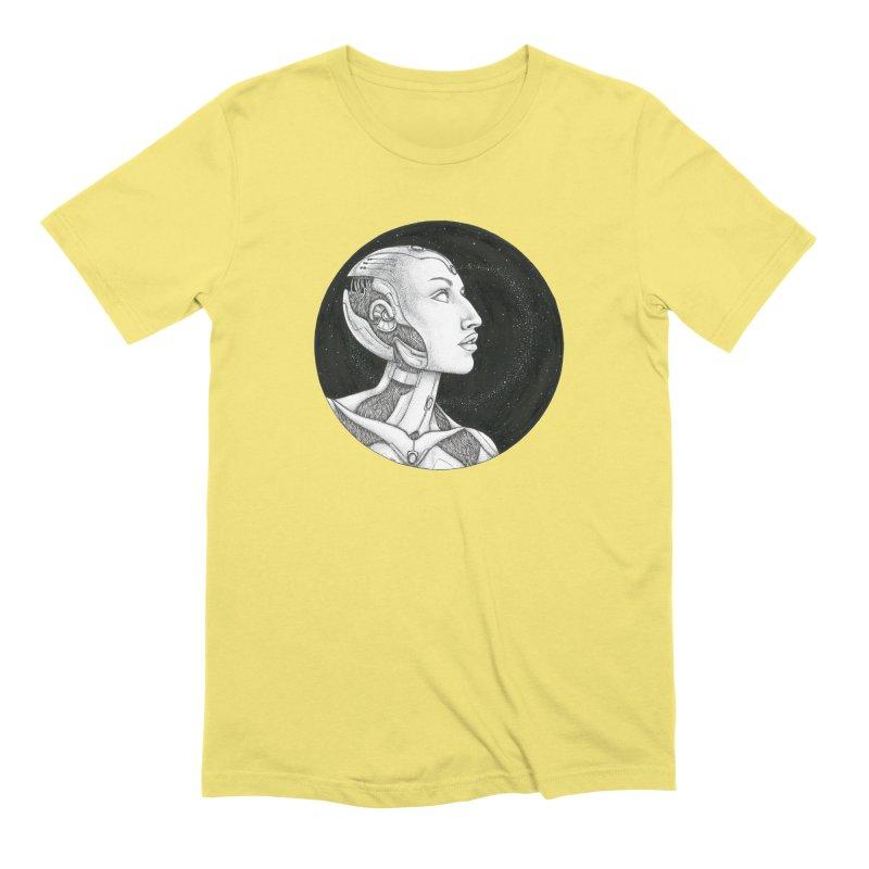 Third Eye Men's Extra Soft T-Shirt by Natalie McKean