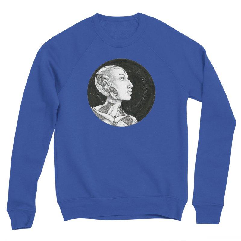 Third Eye Men's Sweatshirt by Natalie McKean