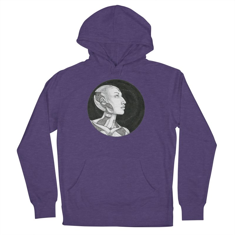 Third Eye Women's French Terry Pullover Hoody by Natalie McKean