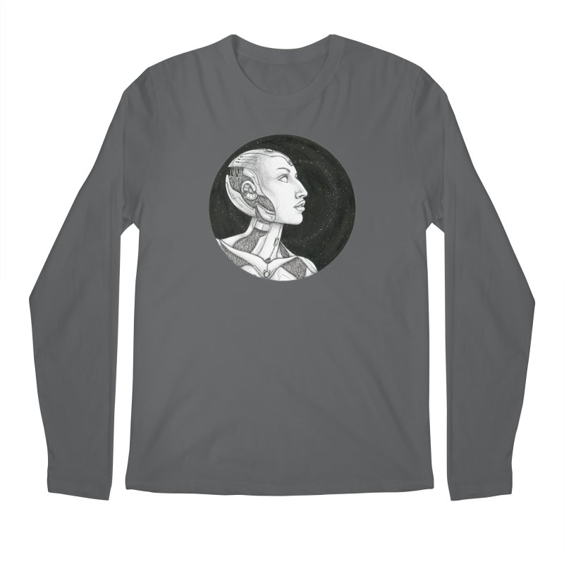Third Eye Men's Regular Longsleeve T-Shirt by Natalie McKean