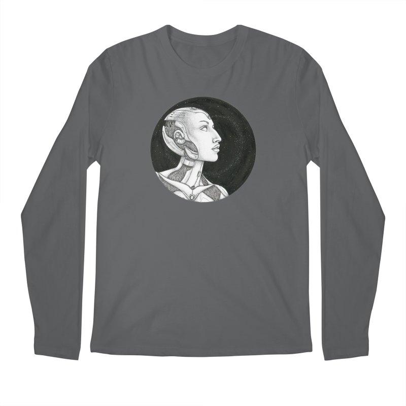 Third Eye Men's Longsleeve T-Shirt by Natalie McKean