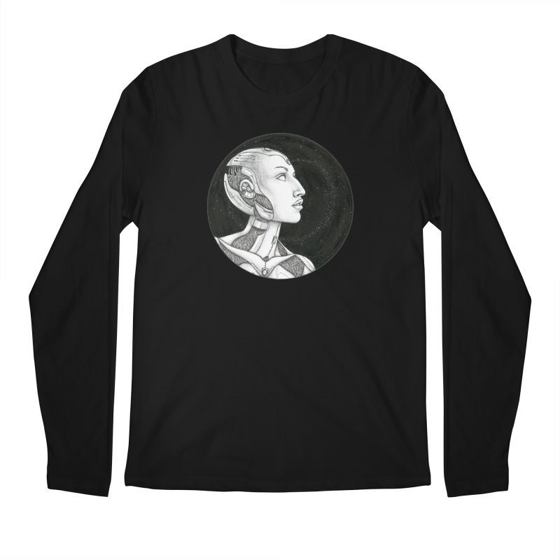 Third Eye Men's Regular Longsleeve T-Shirt by Natalie McKean