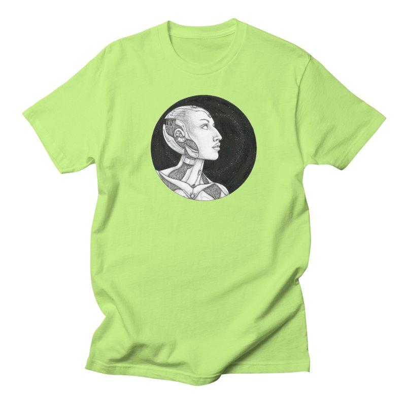 Third Eye Men's Regular T-Shirt by Natalie McKean