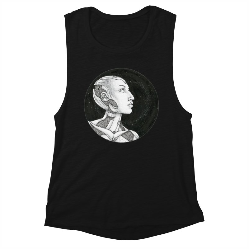 Third Eye Women's Tank by Natalie McKean