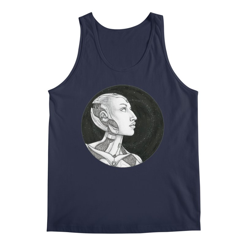 Third Eye Men's Tank by Natalie McKean