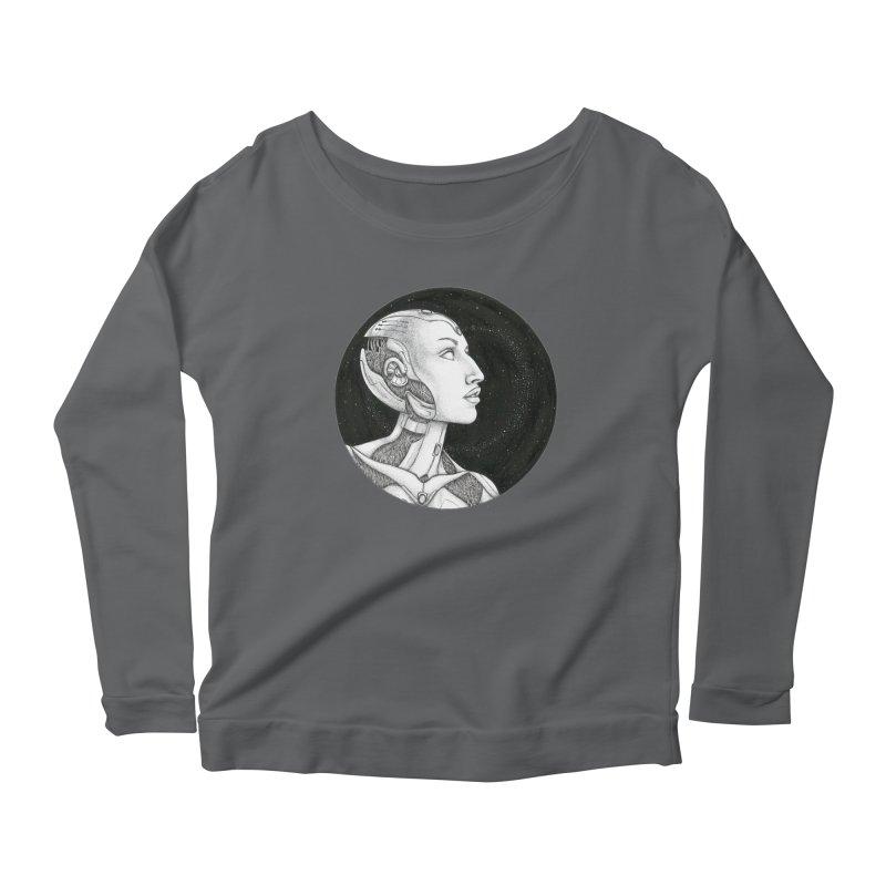 Third Eye Women's Scoop Neck Longsleeve T-Shirt by Natalie McKean