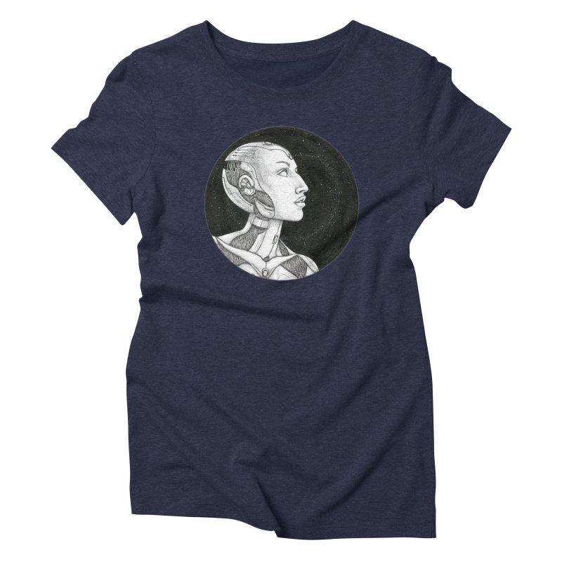 Third Eye Women's Triblend T-Shirt by Natalie McKean