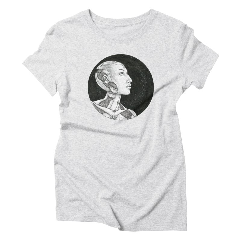 Third Eye Women's T-Shirt by Natalie McKean
