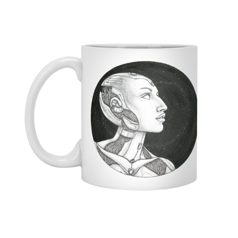 Third Eye Accessories Standard Mug by Natalie McKean
