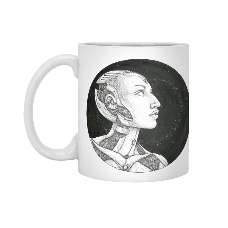 Third Eye Accessories Mug by Natalie McKean