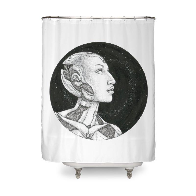 Third Eye Home Shower Curtain by Natalie McKean