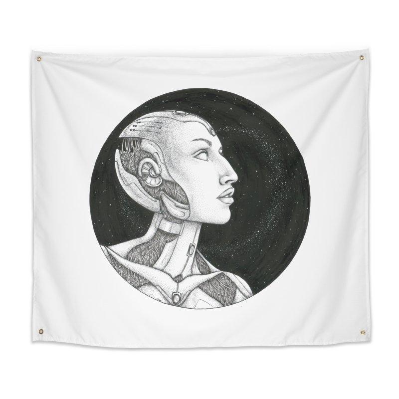 Third Eye Home Tapestry by Natalie McKean