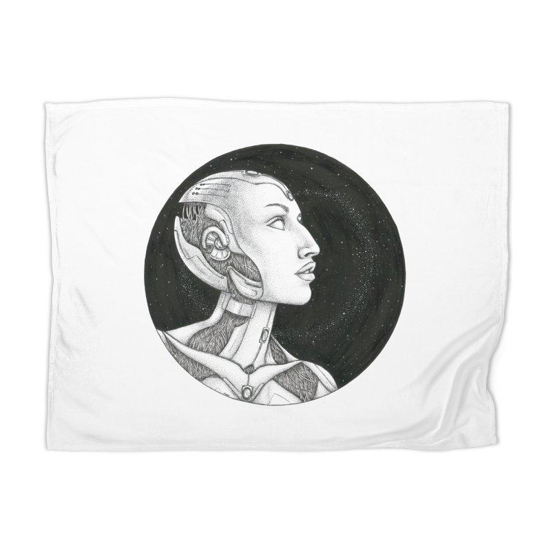 Third Eye Home Blanket by Natalie McKean