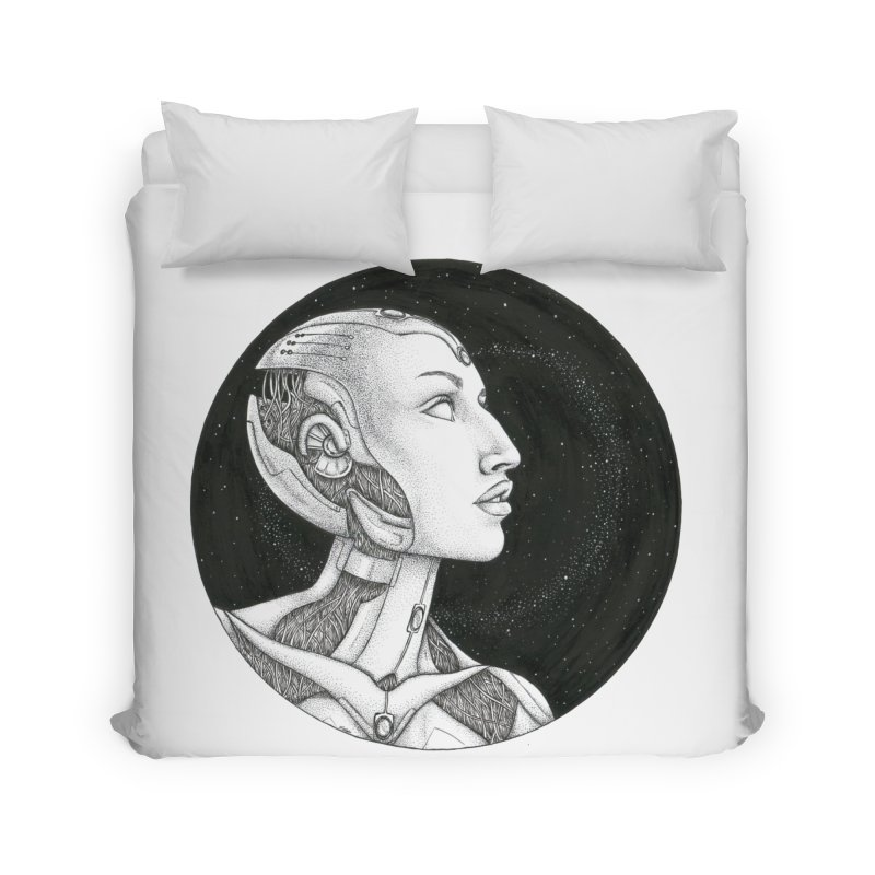 Third Eye Home Duvet by Natalie McKean