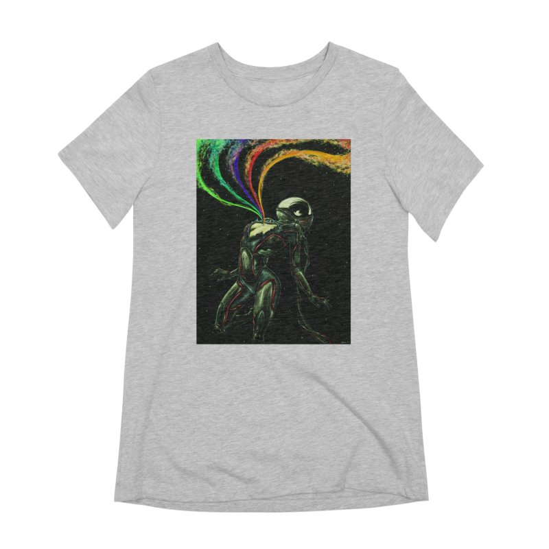I Love You This Much Women's Extra Soft T-Shirt by Natalie McKean