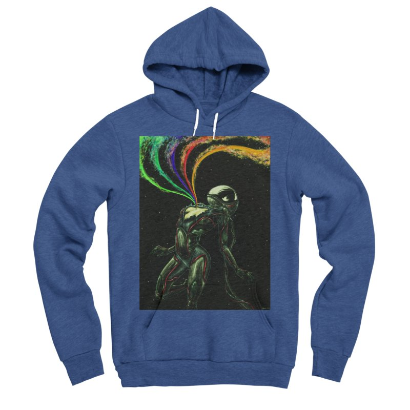 I Love You This Much Men's Sponge Fleece Pullover Hoody by Natalie McKean
